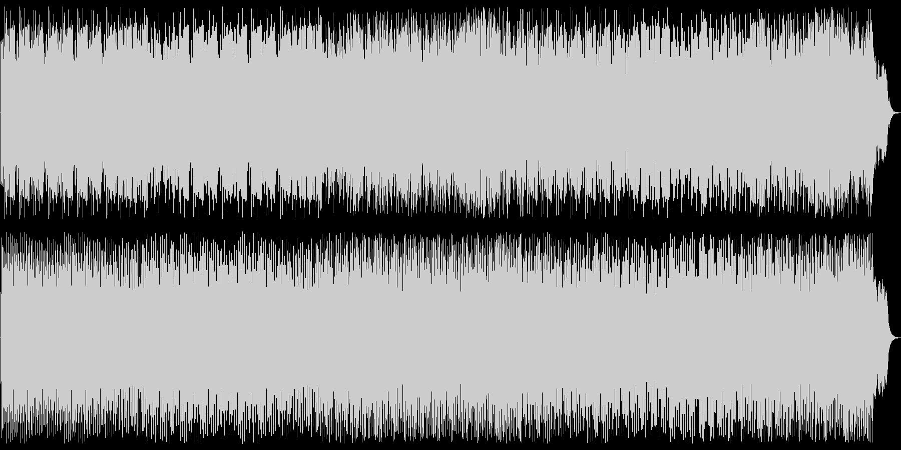 シリアスでドキドキ感のシンセサウンドの未再生の波形