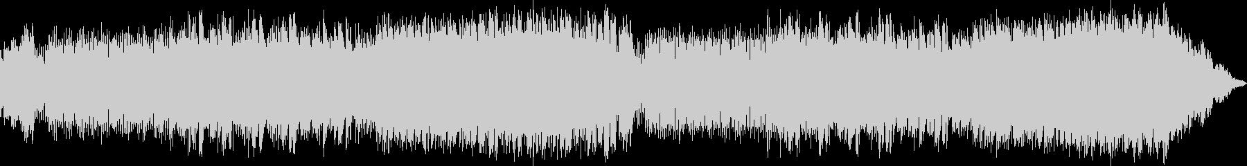 フォルクローレ風のファンタジーBGMの未再生の波形