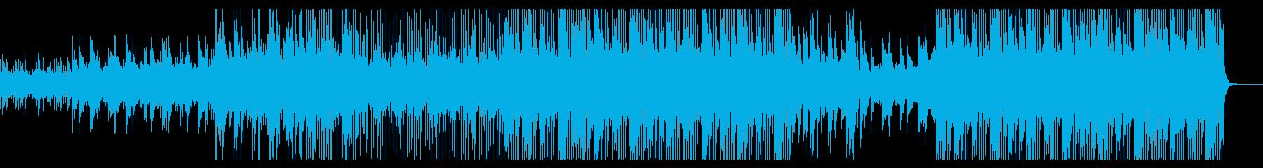 軽快さと壮大さを持った印象的なBGMの再生済みの波形