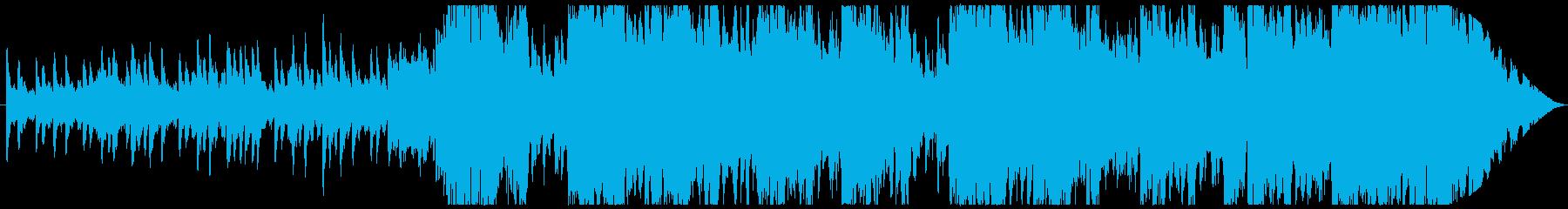 ジングル - アイリッシュな森の民族音楽の再生済みの波形