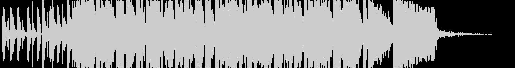 アニメ系アイキャッチ、キラキラ楽しいの未再生の波形