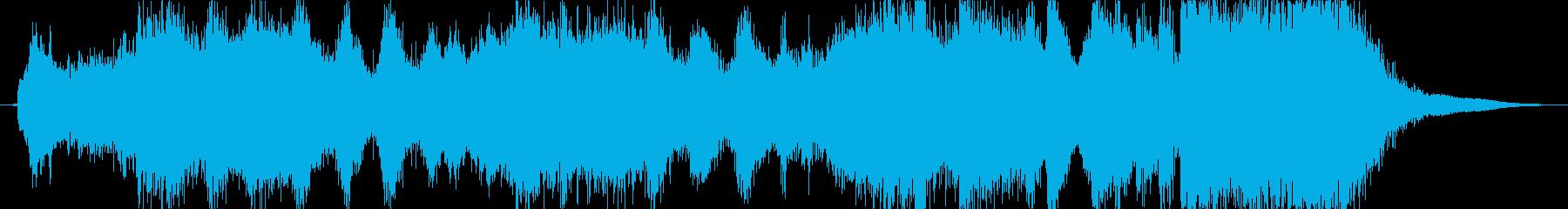 邪悪なイメージのファンファーレ2の再生済みの波形
