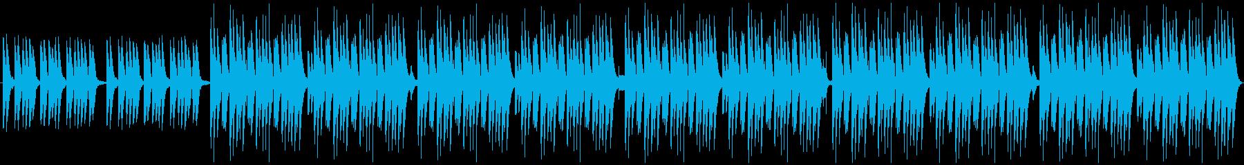 コミカル・まったり・日常・マリンバの再生済みの波形