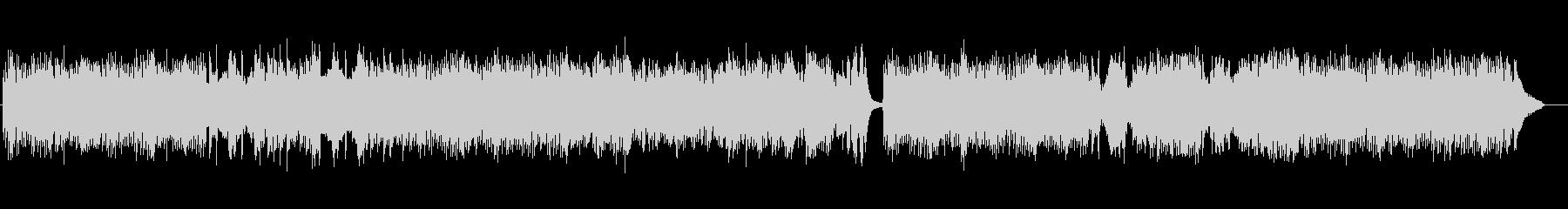 流れるようなメロディのロンドの未再生の波形