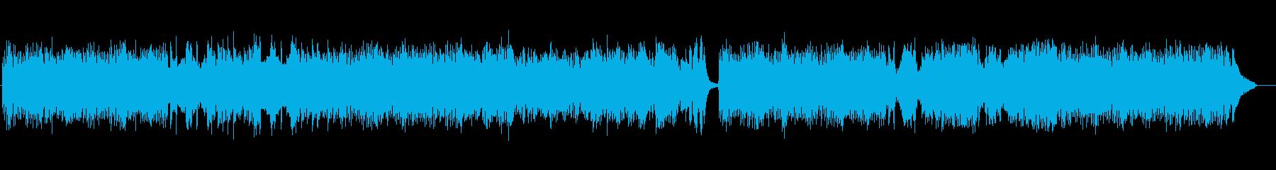 流れるようなメロディのロンドの再生済みの波形