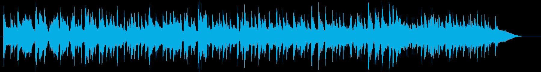 牡蠣をテーマにした楽曲の再生済みの波形