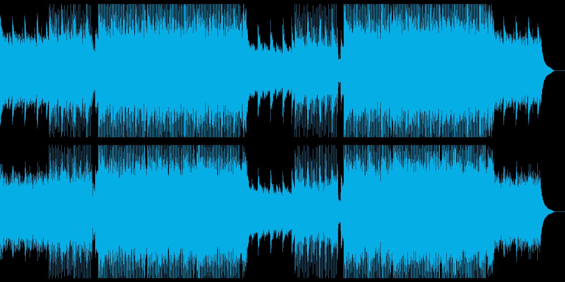 爽やかなピアノのチルアウトシンフォニー。の再生済みの波形