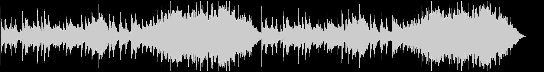 Moist piano, strings BGM's unreproduced waveform