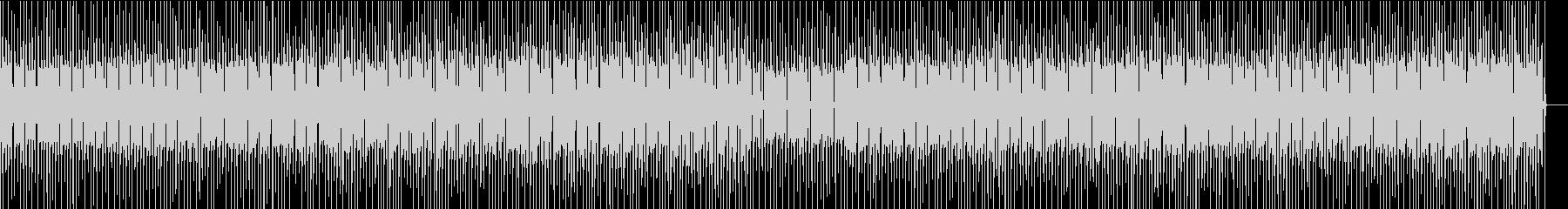 ノリのよい、昔のロック風BGM の未再生の波形