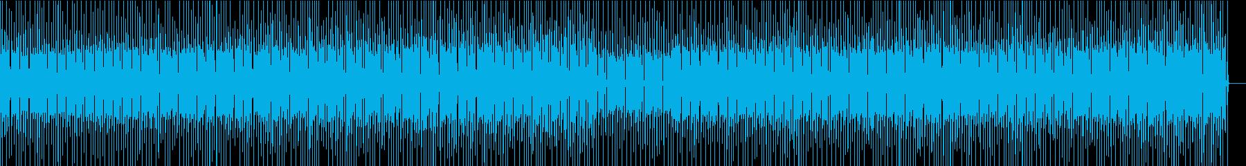 ノリのよい、昔のロック風BGM の再生済みの波形