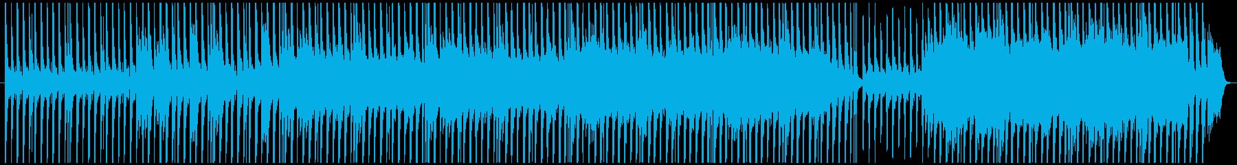 不思議な国に迷い込んだ時の曲の再生済みの波形