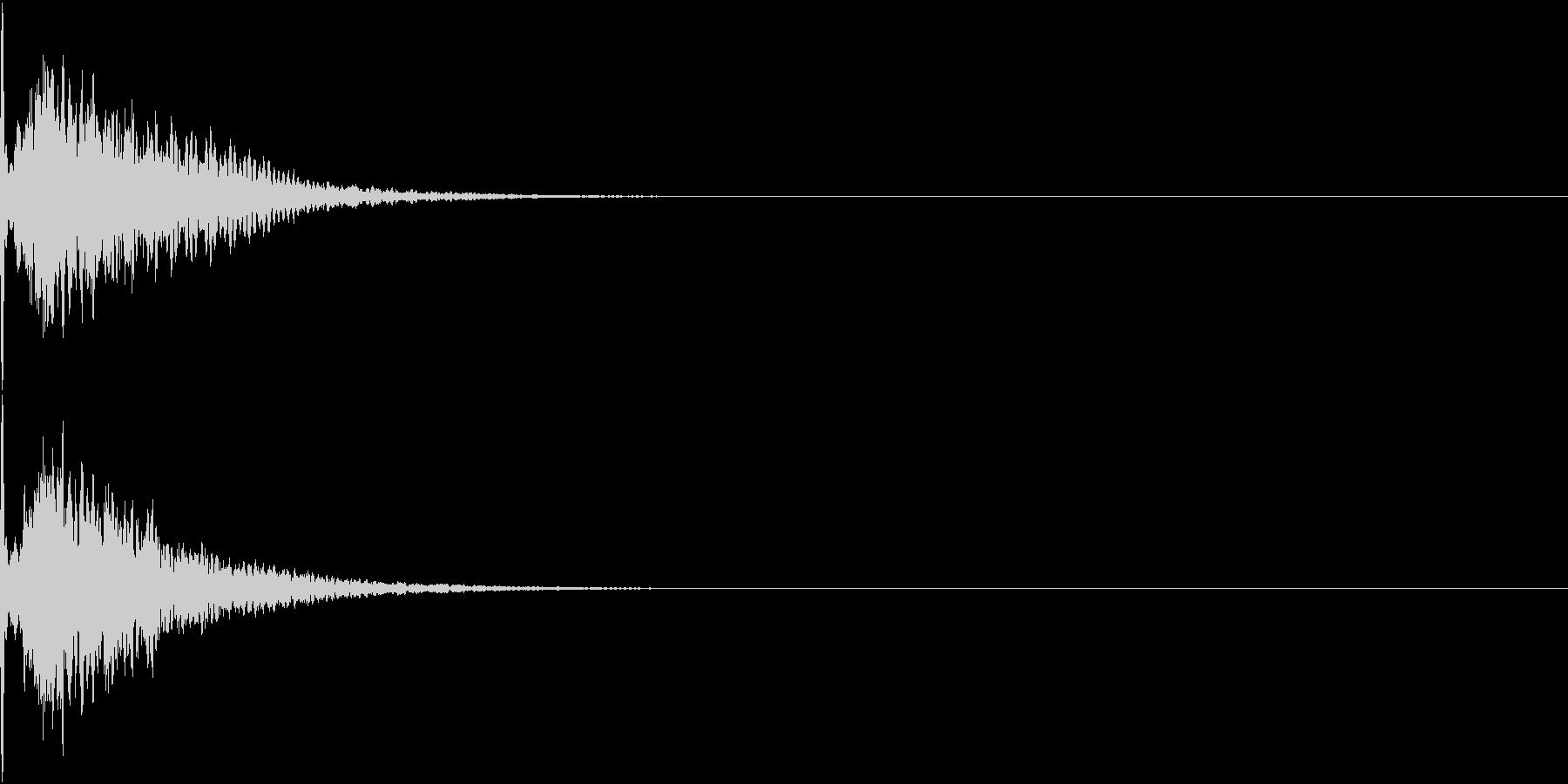 キュイン 光 ピカーン フラッシュ 05の未再生の波形