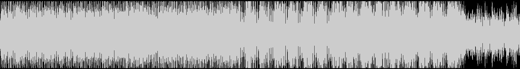 ちょっとクールなハウス調BGMの未再生の波形