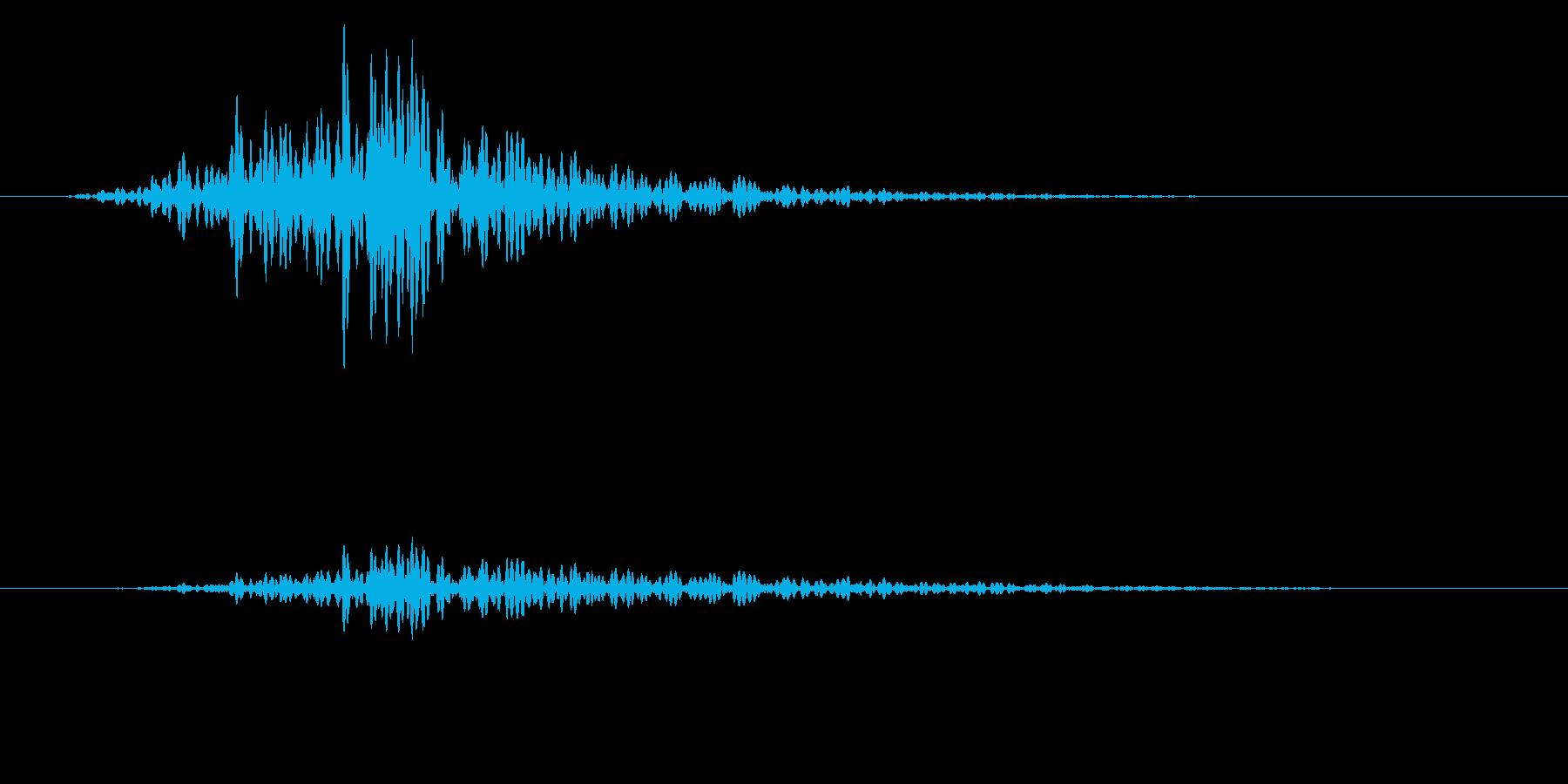 シャッ!カットインや風切り/場面転換に4の再生済みの波形