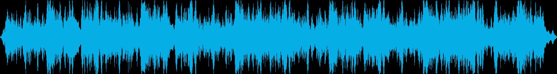 重く禍々しい空気のアンビエントの再生済みの波形