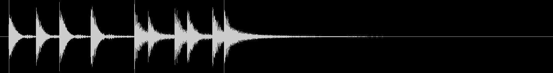ドラム/ティンバレス フィルイン 15の未再生の波形