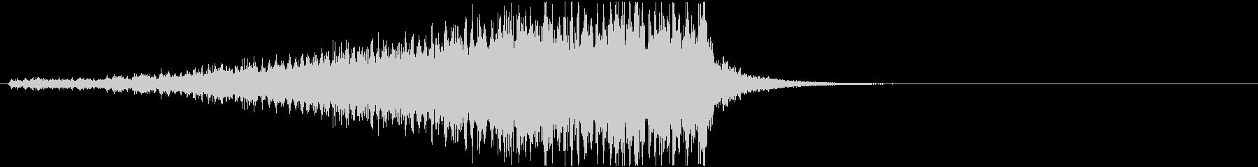 ドラムロールC(長め・シンバル無し)の未再生の波形