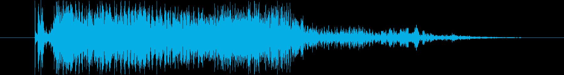 SCI FI 負のヘビー03をクリ...の再生済みの波形