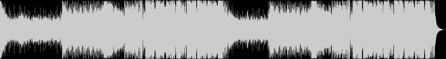 スピード感のあるキャッチーなEDMの未再生の波形