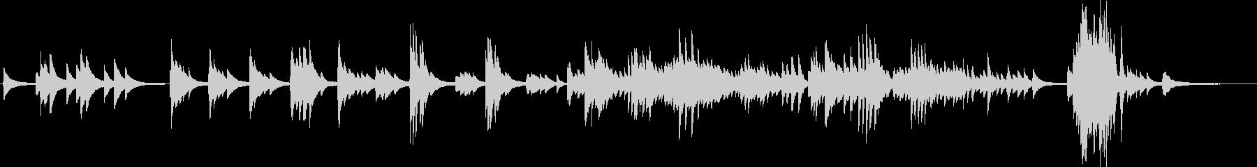 別れ(ピアノソロ・切ない・バラード)の未再生の波形