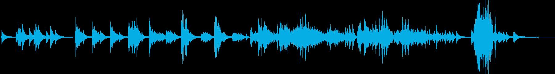 別れ(ピアノソロ・切ない・バラード)の再生済みの波形