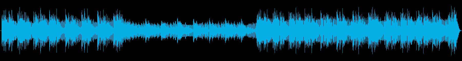 エレクトリックピアノとギターをフィ...の再生済みの波形