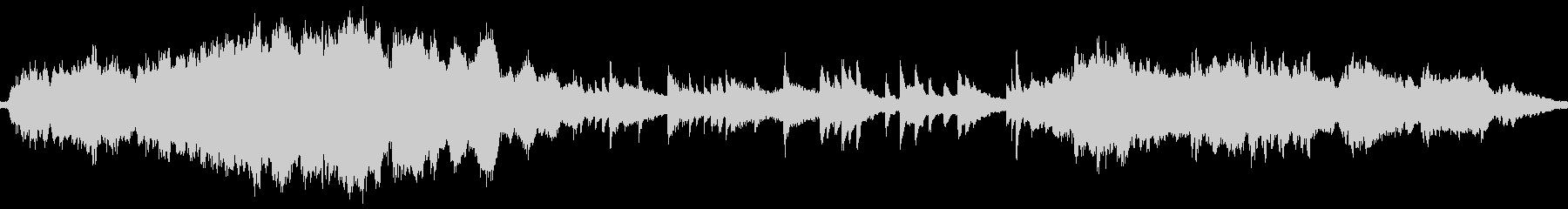 ループ版 ピアノとストリングスのバラードの未再生の波形