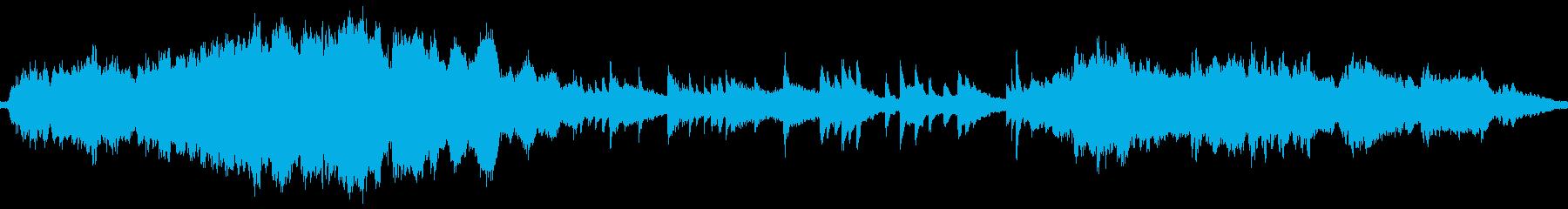 ループ版 ピアノとストリングスのバラードの再生済みの波形
