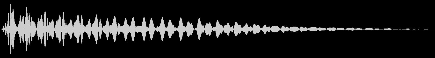 PureTouch アプリ用タッチ音68の未再生の波形