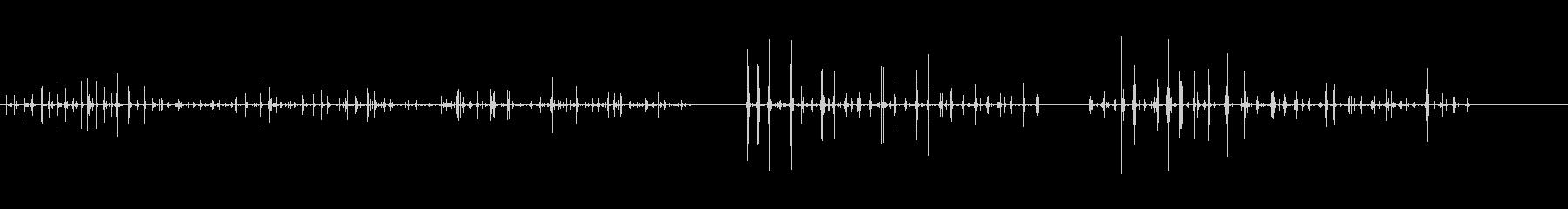 食べる-噛む-動物-人工-3バージョン3の未再生の波形