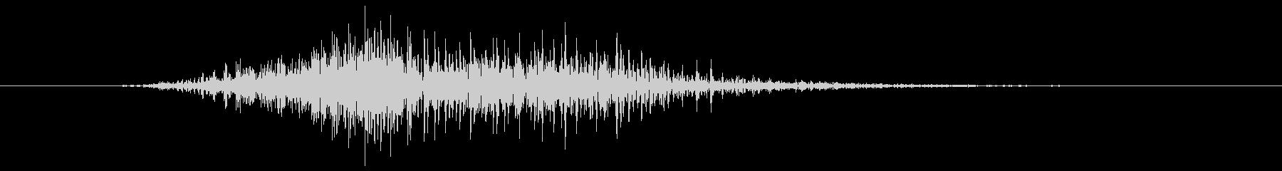 鳴き声 男性ファイトインテンス03の未再生の波形