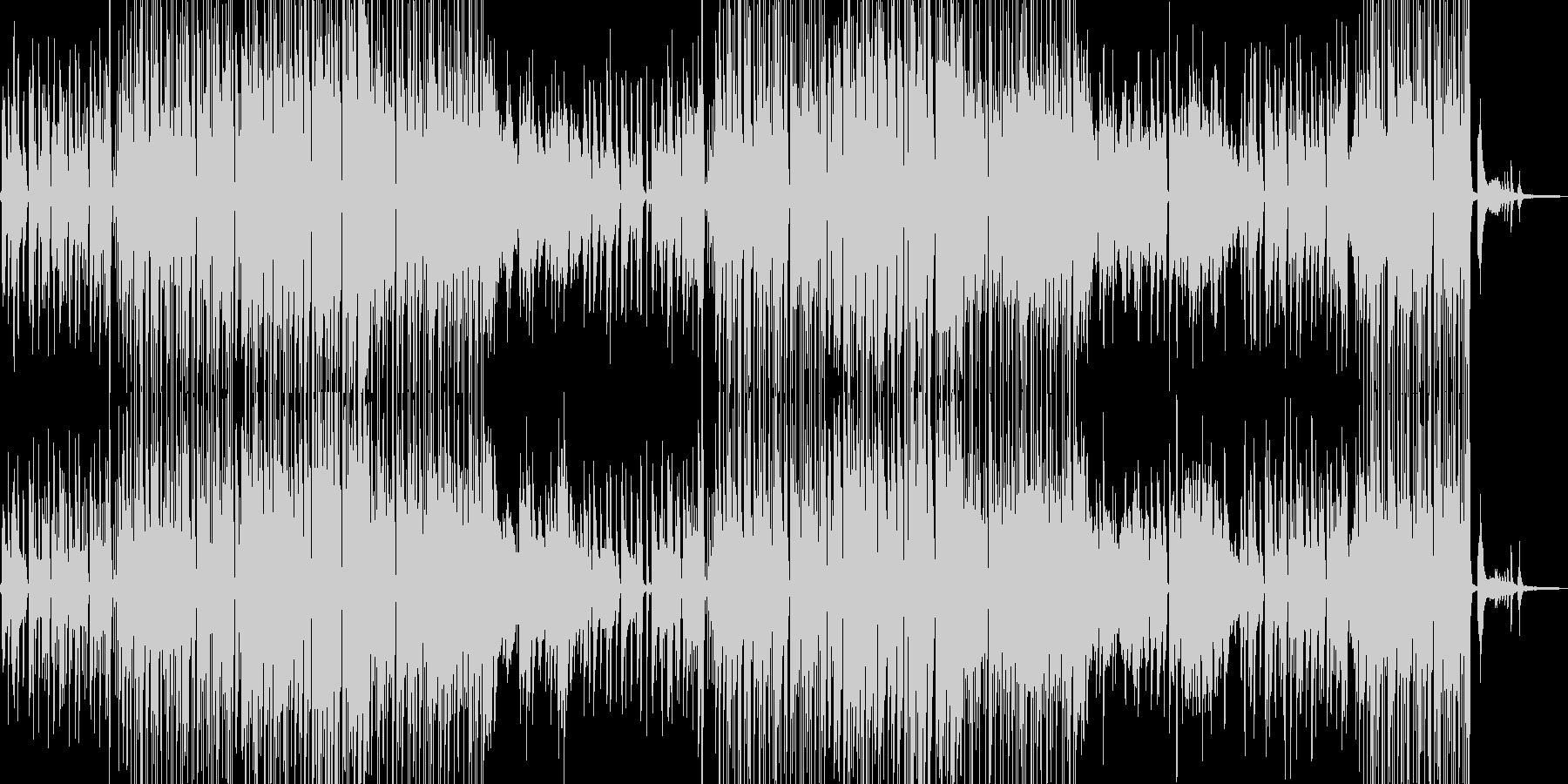 シャイな雰囲気・ほんわかしたジャズ 短尺の未再生の波形