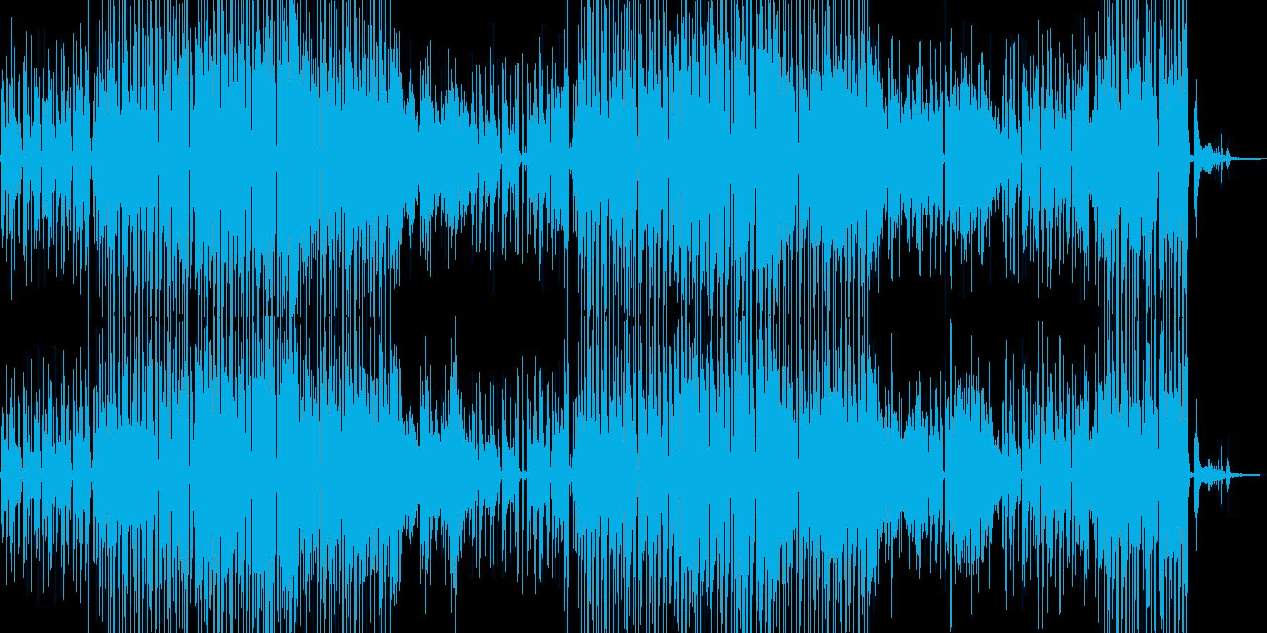 シャイな雰囲気・ほんわかしたジャズ 短尺の再生済みの波形