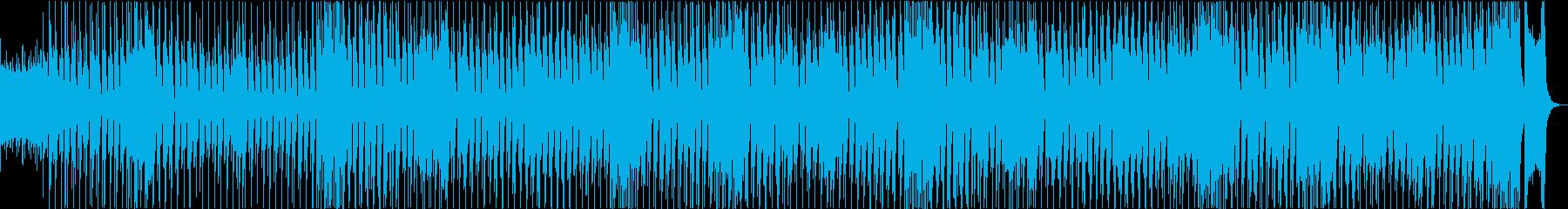 江戸を感じる派手な和風ブルースの再生済みの波形