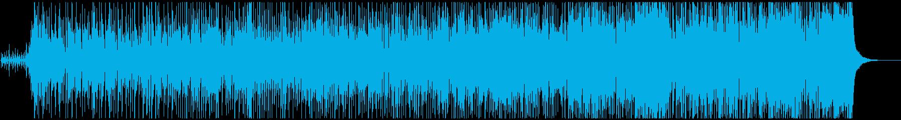 短く明るいファンク、ビーチミュージック。の再生済みの波形