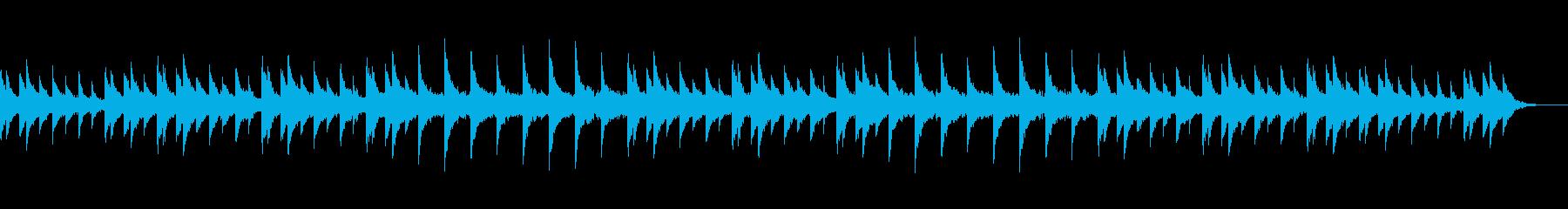 静謐な佇まいを醸すサティ風ピアノ小曲の再生済みの波形