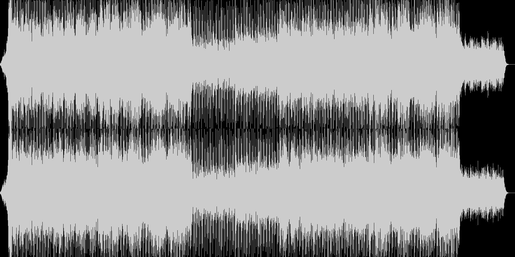 EDM明るいクラブ系キラキラシンセ-01の未再生の波形