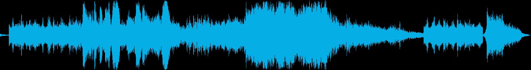 スペースファイターデュエル:敵の基...の再生済みの波形