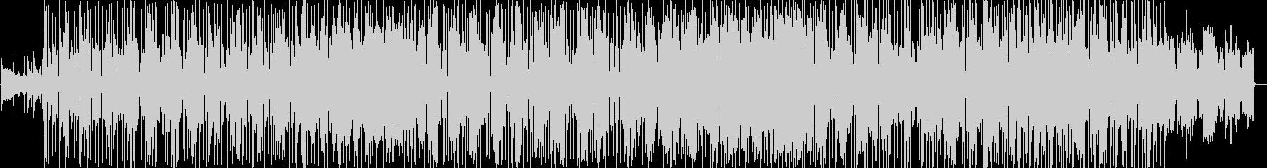 ファンクなピアノスムースジャズの未再生の波形
