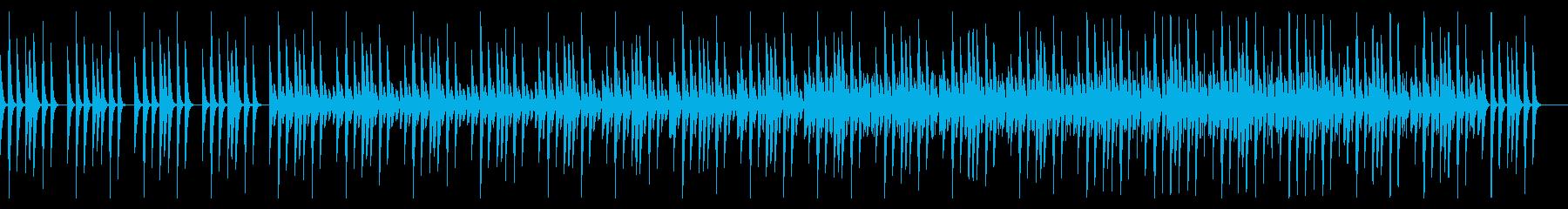 超シンプル!おとぼけで明るいBGMの再生済みの波形