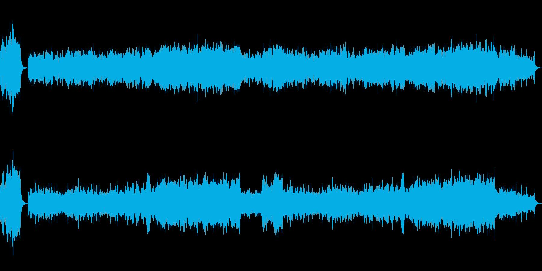 表彰オーケストラ発表ファンファーレの再生済みの波形