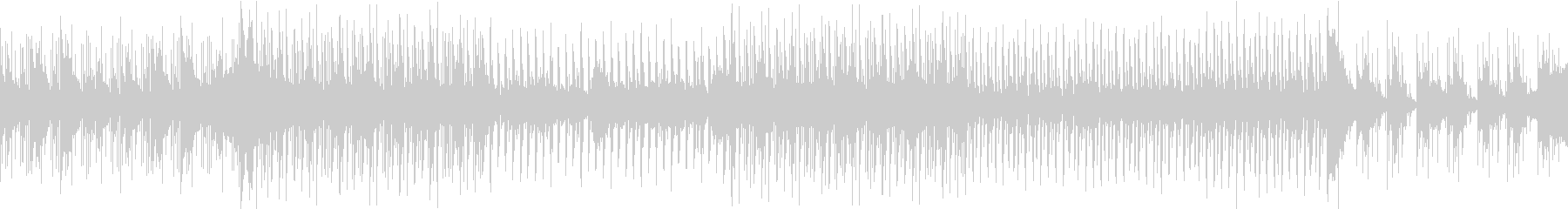 幻想的なシンセ・ハウス(ループ可能)の未再生の波形