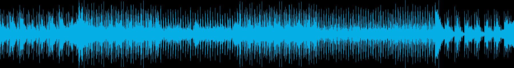 幻想的なシンセ・ハウス(ループ可能)の再生済みの波形