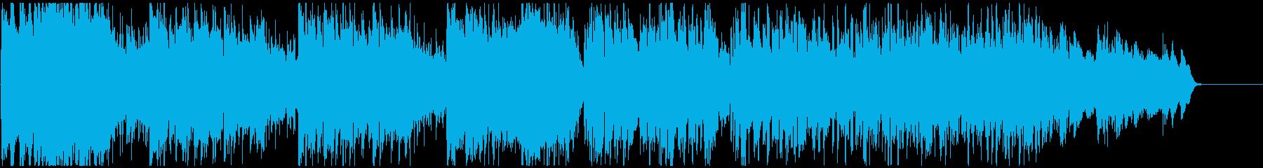 怪盗系ハードボイルドジャズ ※60秒版の再生済みの波形
