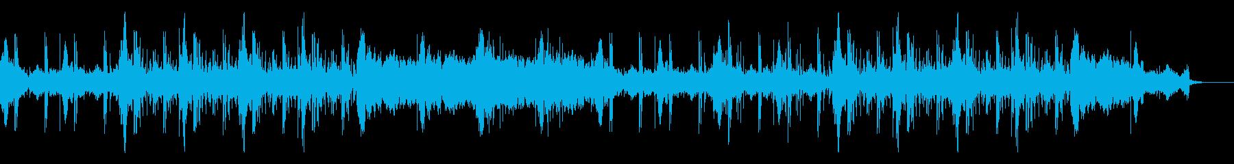 ホラー映画サスペンスドラマ怪談番組に最適の再生済みの波形