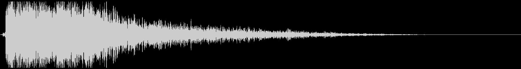 ファンタジー_スタート_決定音の未再生の波形
