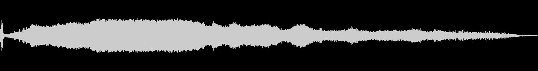 マシンソープレーナーウッドbの未再生の波形