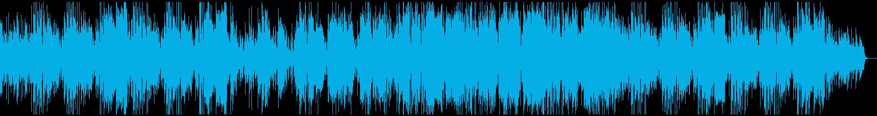 悪役登場シーンのマイナーブルースジャズの再生済みの波形