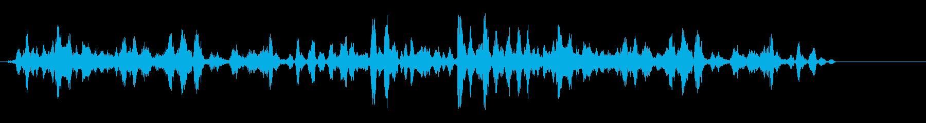 群れ犬の再生済みの波形