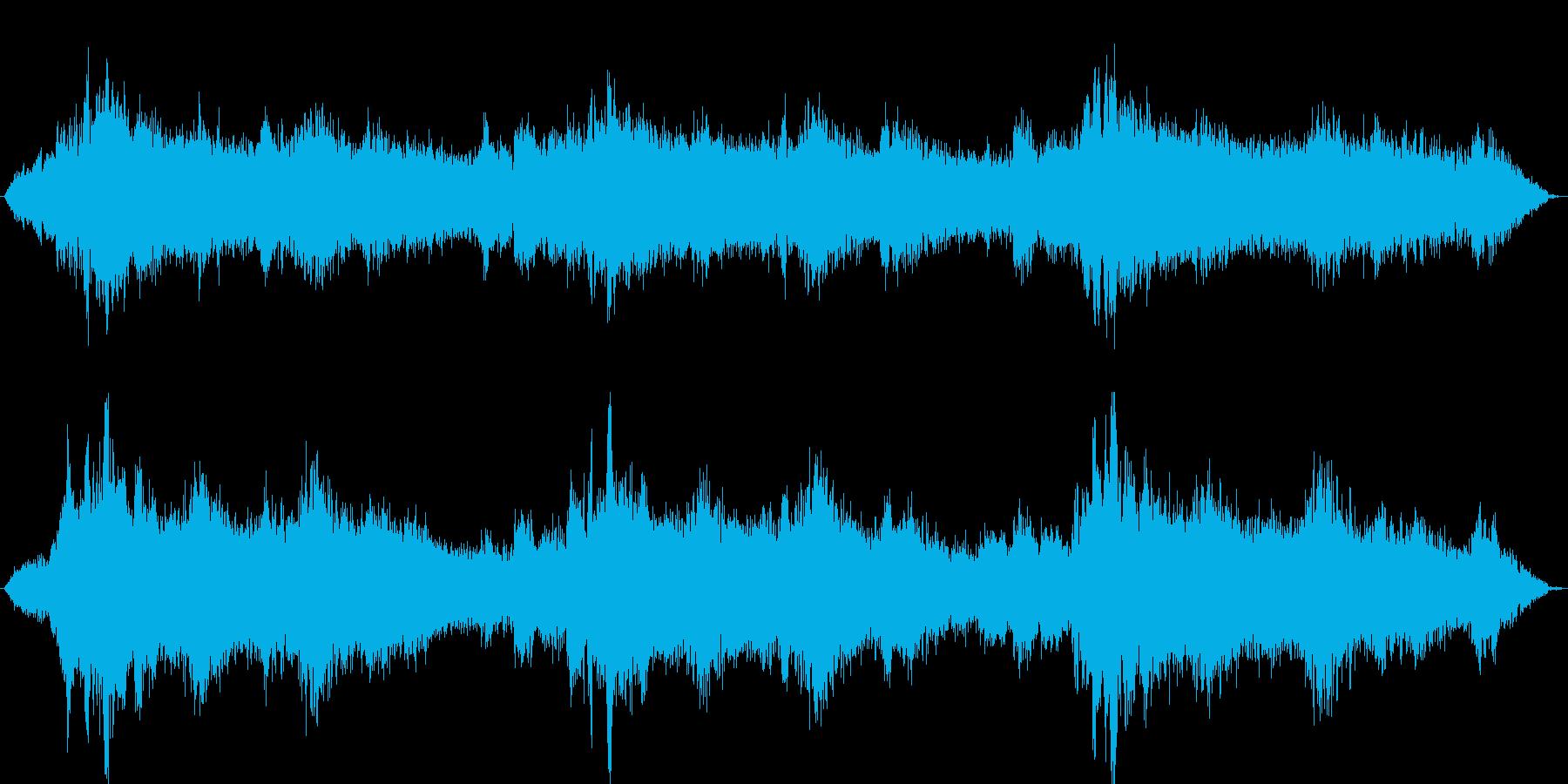 宇宙空間(環境音)の再生済みの波形
